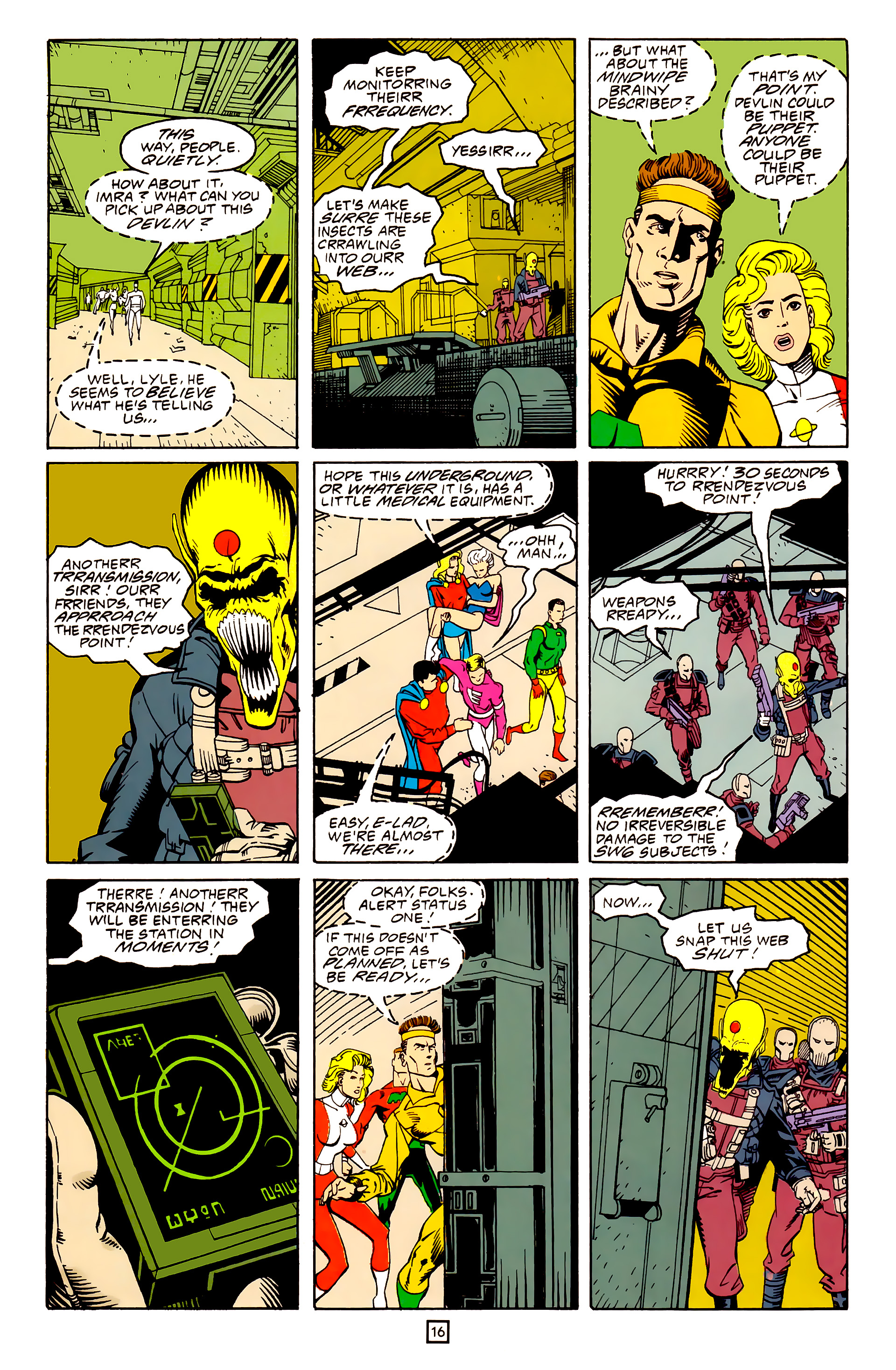Legion of Super-Heroes (1989) 25 Page 16