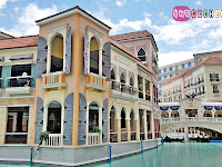 Solo traveling to Venice Grand Canal in Manila