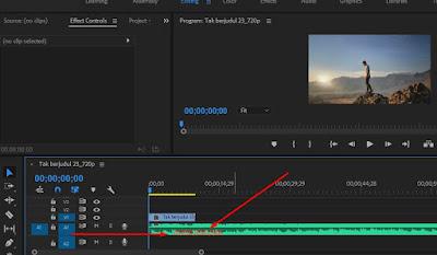 Cara Memotong Lagu di Adobe Premiere Pro