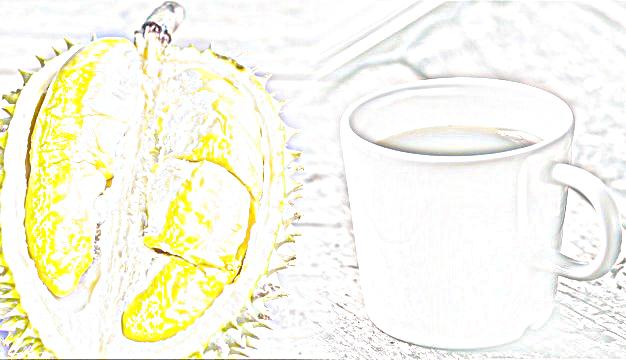 inilah penjelasan kombinasi buah durian dengan kopi menyebabkan kematian, fakta atau mitos!