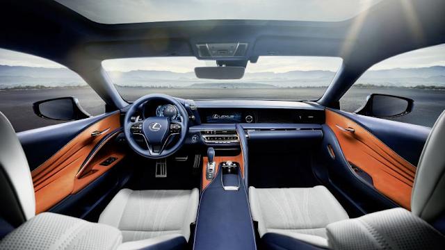 2018 Lexus LC 500 H Interior