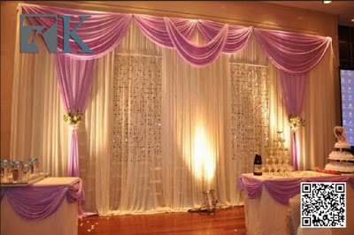 RK pipe and drape