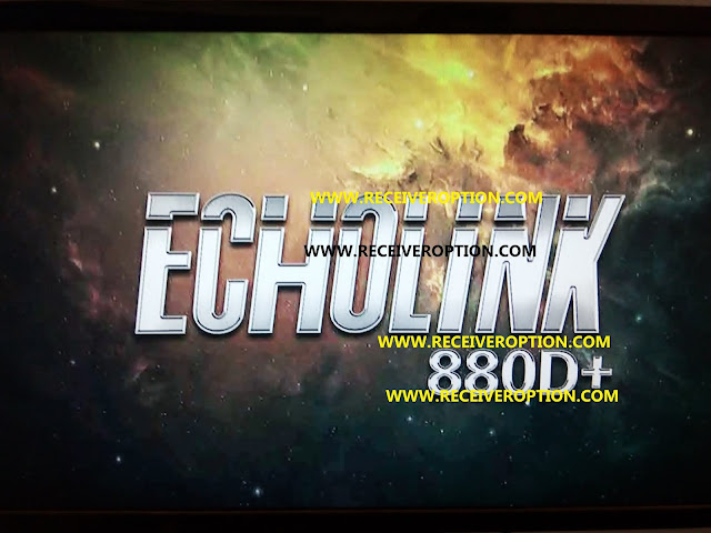 ECHOLINK 880D+ HD RECEIVER POWERVU KEY FIX NEW SOFTWARE