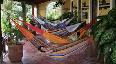 المكسيك: النوم في الأراجيح