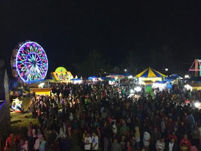 Nikmati Hiburan Merakyat di Pasar Malam Murah Meriah Hati Senang