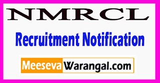 NMRCL Nagpur Metro Rail Corporation Limited Recruitment Notification 2017   Last Date 21-06-2017
