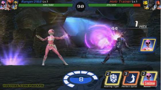 Power Rangers Legacy Wars MOD Hack 99999 Crystal Apk for Android Versi Terbaru