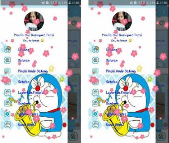 BBM Mod Doraemon Music Player V3.2.2.8 Apk Unclone [ Maulia Pramujito]