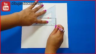 division de una recta, geometría , dibujo para principiantes, delein padilla dibujando con delein, clases gratis de dibujo, como dibujar, ideas para dibujo, dibujo facil, dibujo para principiantes, dibujo paso a paso, diy, tutorial de dibujo, mandala, zentangle