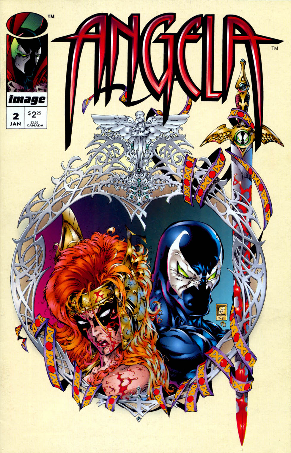 Read online Angela (1994) comic -  Issue #2 - 1