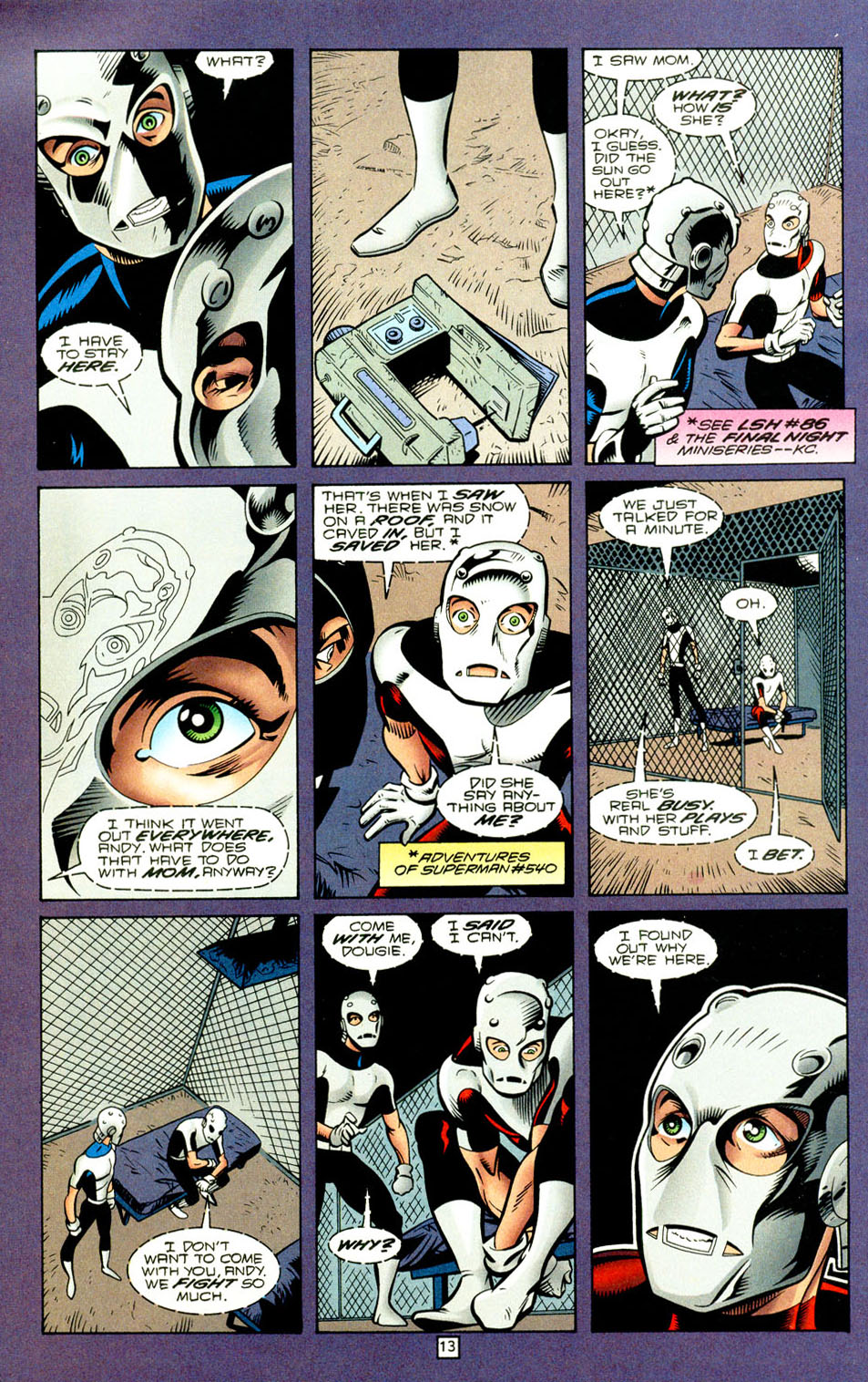 Legion of Super-Heroes (1989) 93 Page 12
