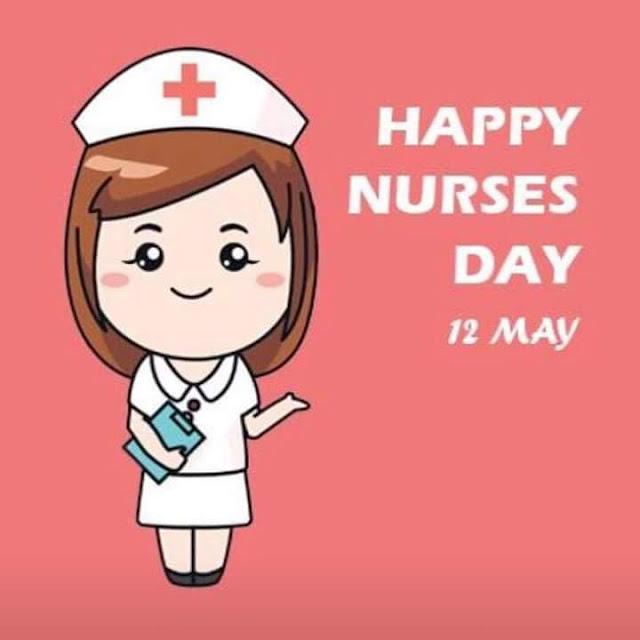 Happy nurse day,  hari jururawat, hari misi sedunia,  pembantu doktor.  Terima kasih cik nurse