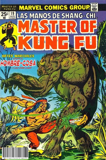 Portada de Master of Kung Fu Nº 19 traducido