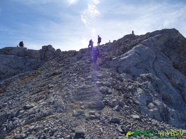 Torre Blanca: Llegando a la cima
