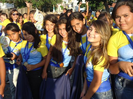 O Desfile Estudantil em São Paulo do Potengi ~ Blog do Silvério Alves