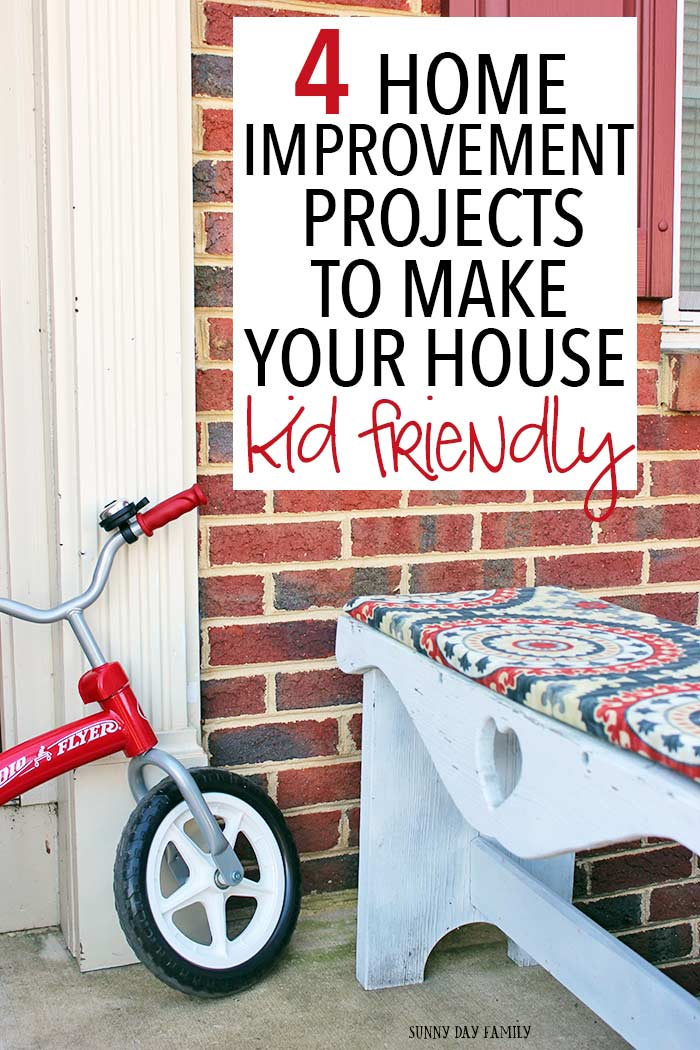 Make your house more kid friendly with these awesome ideas for renovating your home! Need a playroom or a backyard space? Learn from my house design mistakes and create the family home you love (and get tips on how to make it happen too).
