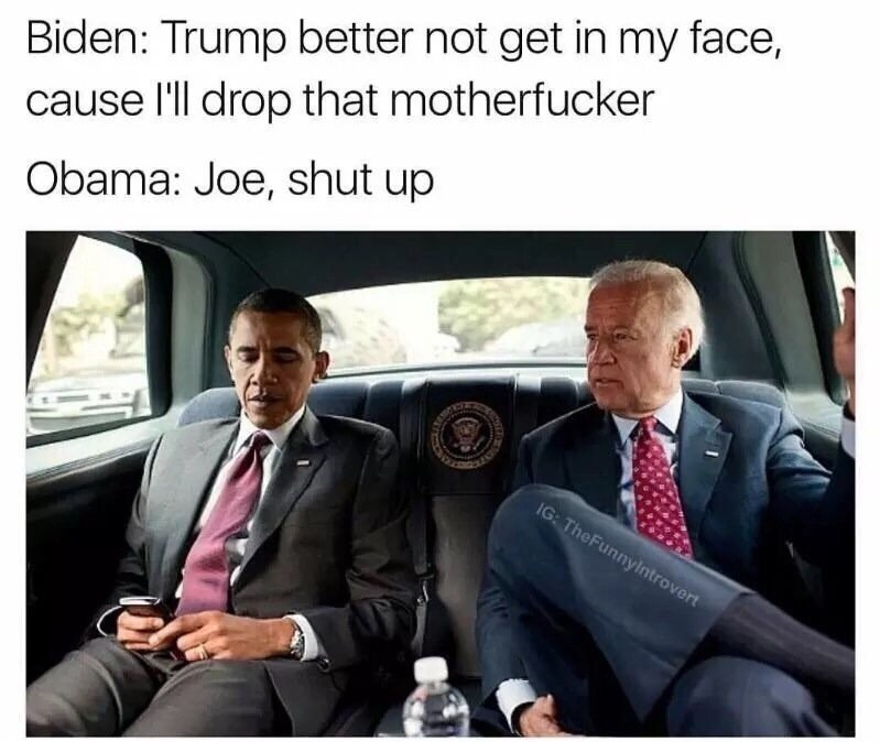 Trump better not get in my face