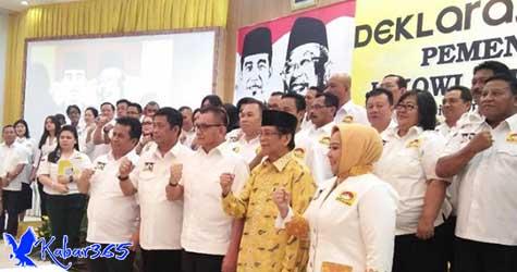 Pedagang Nasgor sampai Komunitas Harley Deklarasi Dukung Jokowi