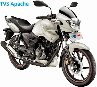 Motor TVS Apache Second