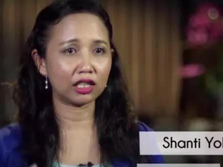 Shanti Yohana, Wanita Yang Sering Dihina Saat SD karena Miskin, Namun 15 Tahun Kemudian ...