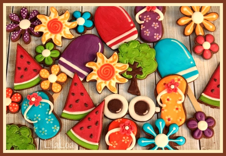 Summer Picnic Cookies