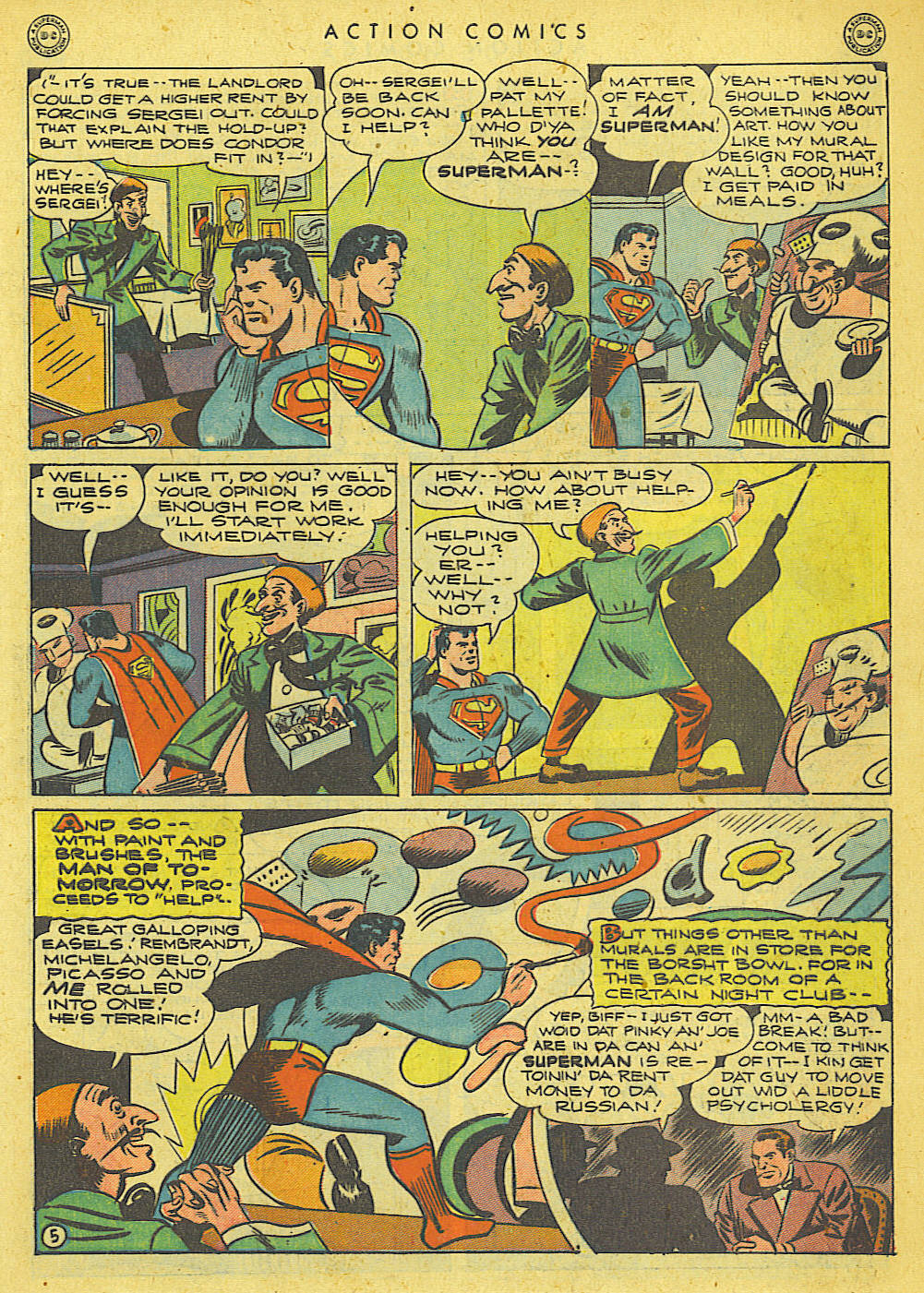 Read online Action Comics (1938) comic -  Issue #78 - 6