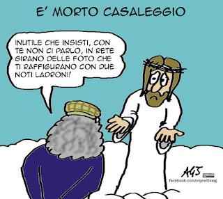 Casaleggio, M5S, satira, vignetta