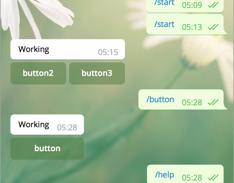 Keyboard Button PHP for Telegram Bot tutorial - IT NEWS