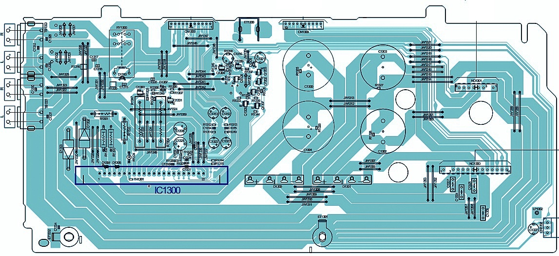 SONY HCDGTR88 Power Amplifier Circuit Diagram STK412750