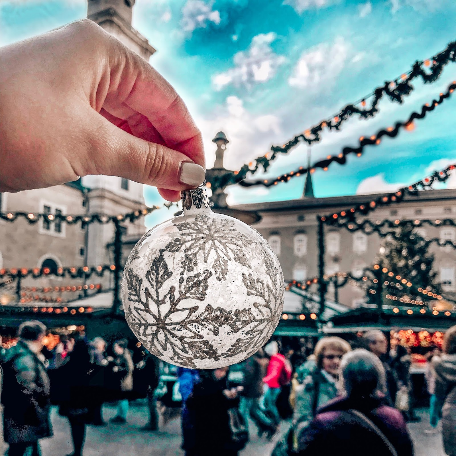 Salzburg holiday market ornament