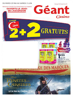 Catalogue Géant Casino 23 Mai au 03 Juin 2017