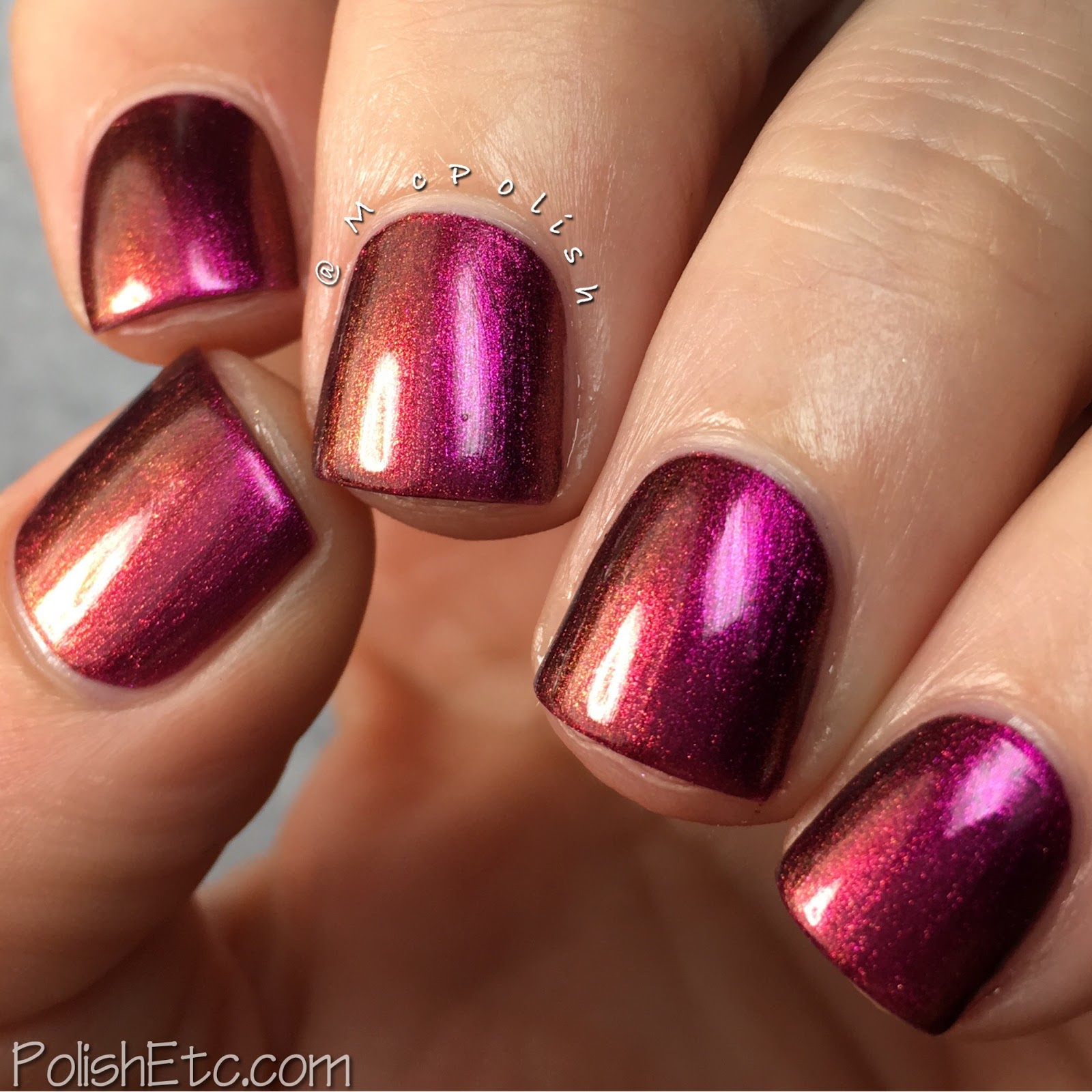Great Lakes Lacquer - Polishing Poetic Collection - McPolish - A Handful of Dust