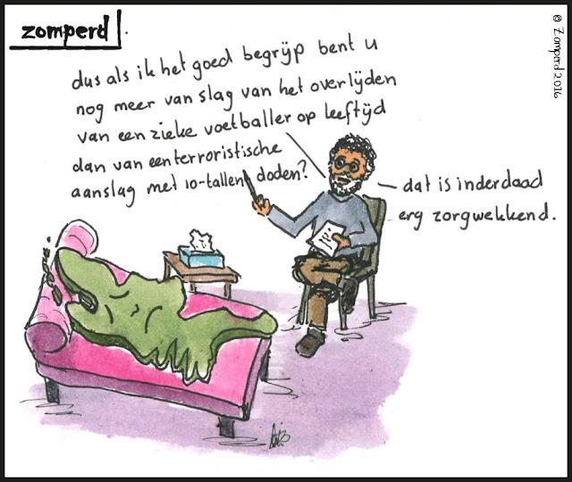 Zomperd - Zorgwekkend terroristische aanslag versus Johan Cruijff