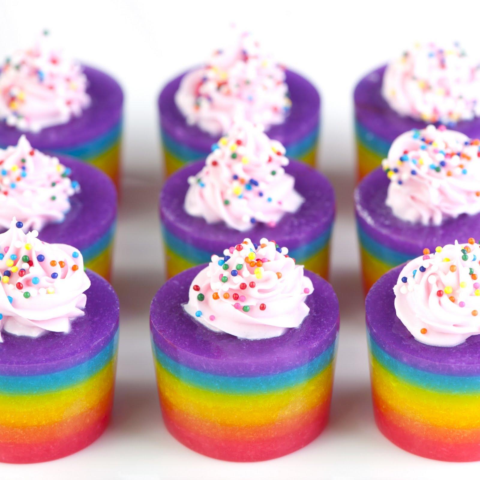 Jelly Shot Test Kitchen: Rainbow Cake