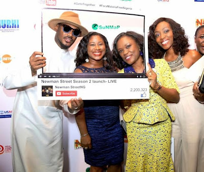 00 See all the fun & celebs at the Newman Street season2 launch