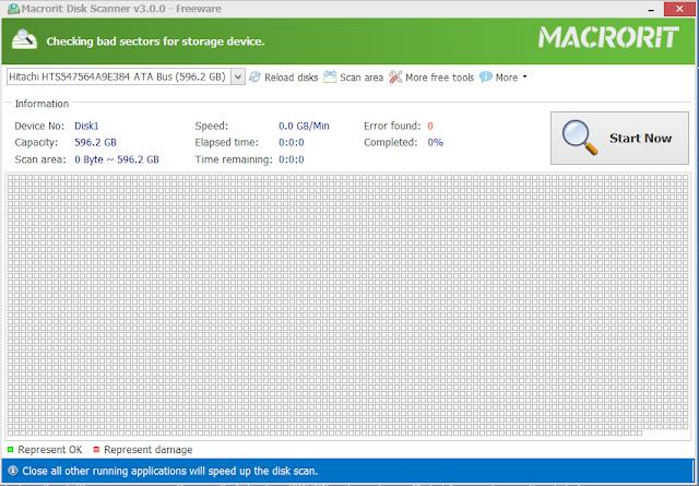 ماهو الباد سيكتور وكيف تحل مشكلته عبر برنامج Macrorit Disk Scanner