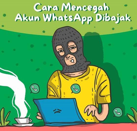 Cara Mencegah Akun Whatsapp Dibajak Oleh Orang Lain