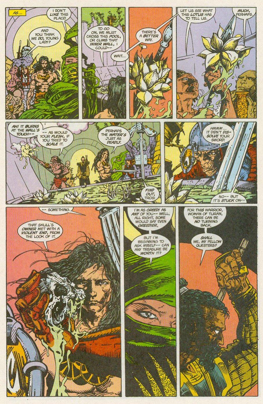 Read online Conan the Adventurer comic -  Issue #13 - 14