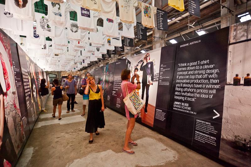 *來去Cockatoo Island看T-world的NEXT展:The future of T-shirt graphics 7