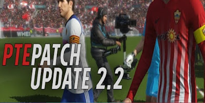 Free Download Pro Evolution Soccer (PES) 2018 PTE Patch (2.0 + 2.1 + 2.2)