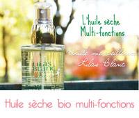 huile sèche Lilas blanc