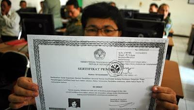 Hasil gambar untuk sertifikasi guru