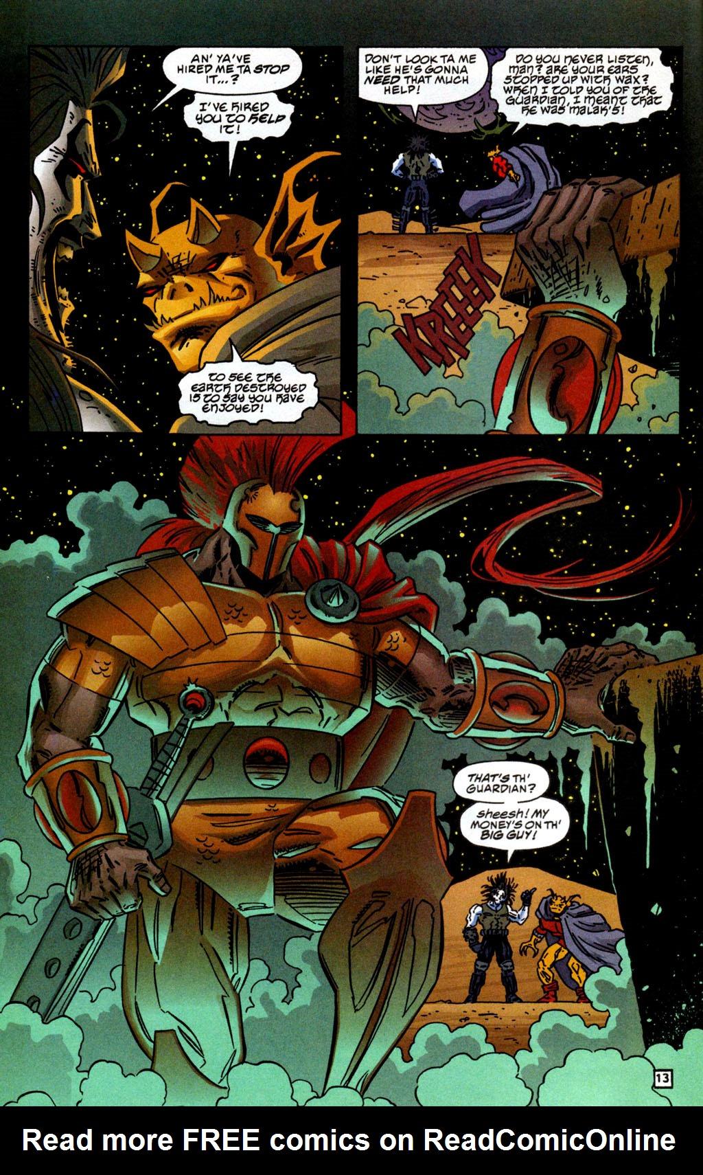 Read online Lobo/Demon: Hellowe'en comic -  Issue # Full - 14