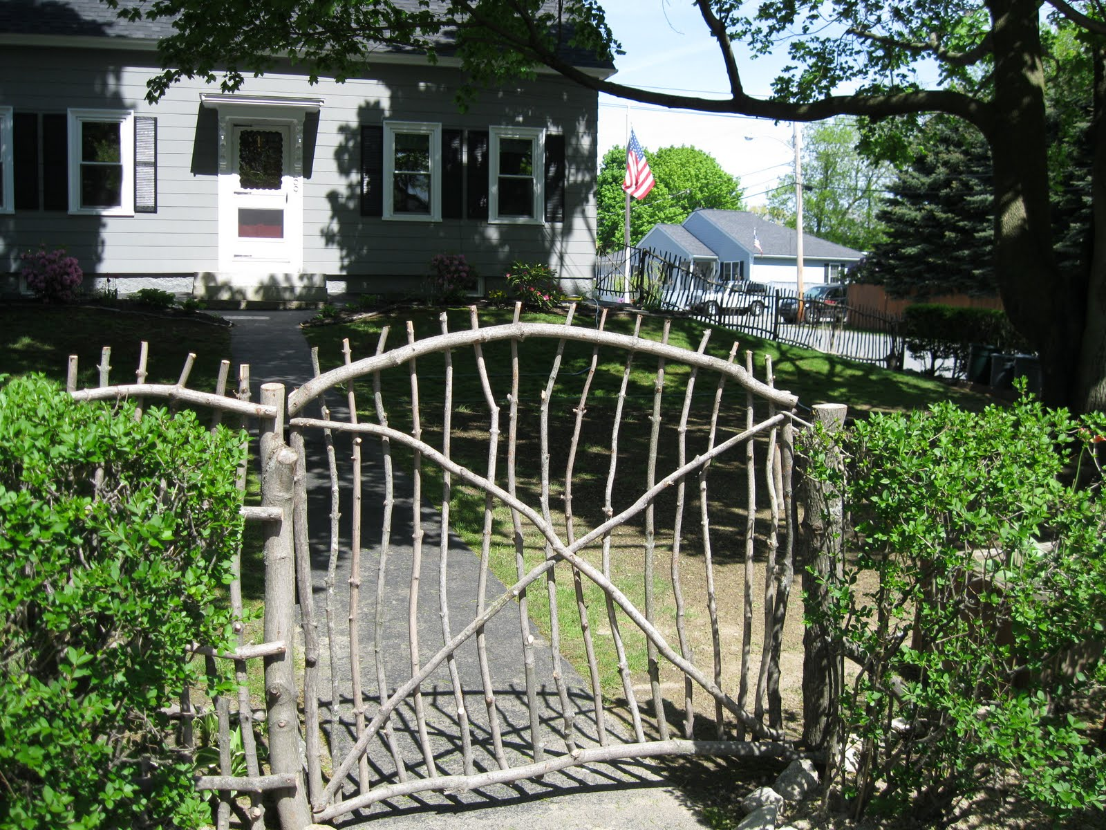 Rustic Stick Co Gate 1