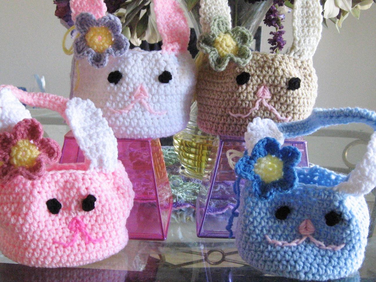 Quick Bunny Basket Crochet Pattern Free Pattern Crochet Dreamz