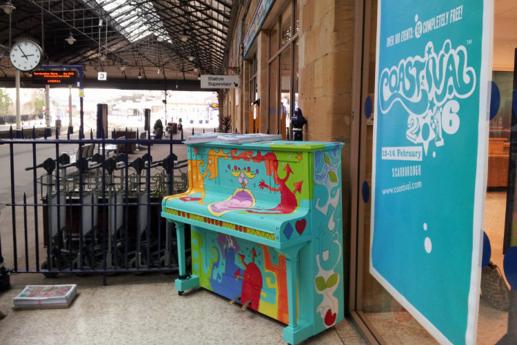 Coastival piano
