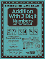 http://www.teacherspayteachers.com/Product/Addition-with-2-Digit-Numbers-Math-Games-and-Lesson-Plan-28240