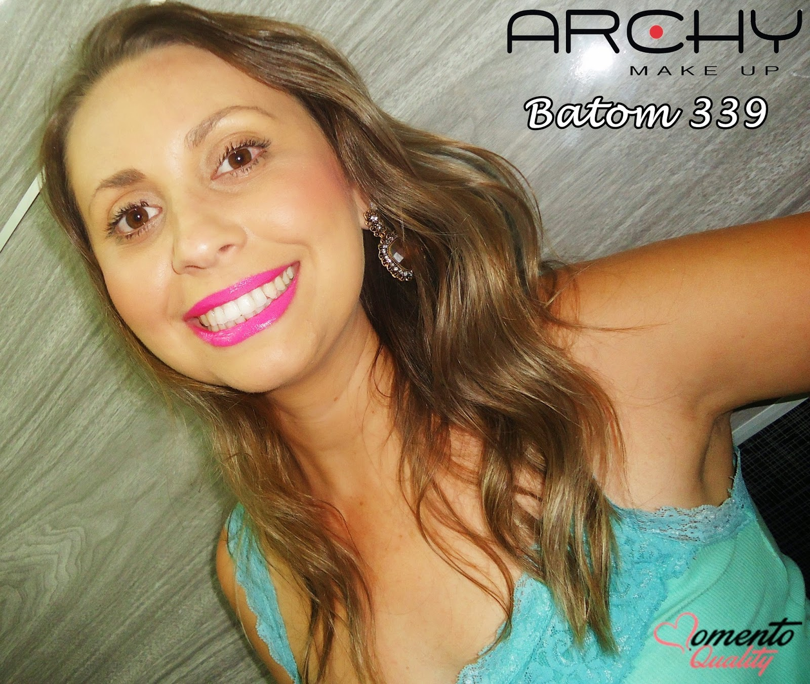 Batom Archy Make Up Batom 339 Momento Quality