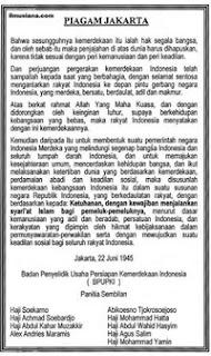 Rumusan Piagam Jakarta