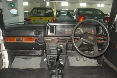 Interior Daihatsu Charmant